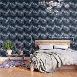 Black Bird Crow Tree Dream Catcher Night Moon A082 Wallpaper