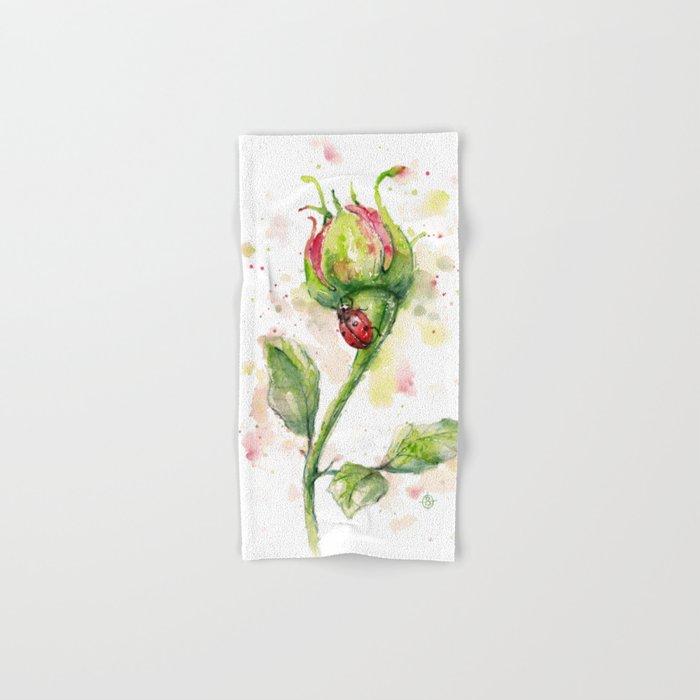 Ladybug Lane Hand & Bath Towel