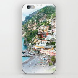 Picture perfect Positano iPhone Skin