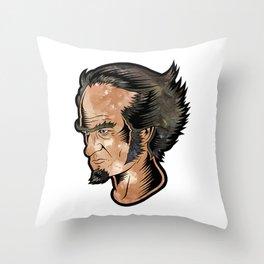 Conde Olaf Throw Pillow