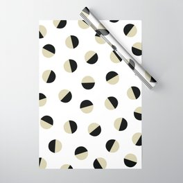 Bone Crescent Moon Wrapping Paper