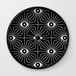 ELECTRIC EYES Wall Clock