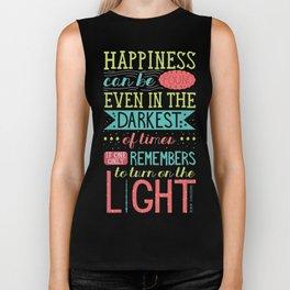 Happiness Biker Tank