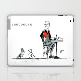 A Few Parisians: Beaubourg by David Cessac Laptop & iPad Skin