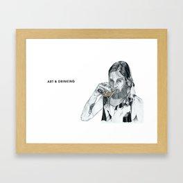 Jono Framed Art Print