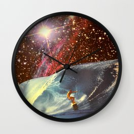 Surf Session Wall Clock
