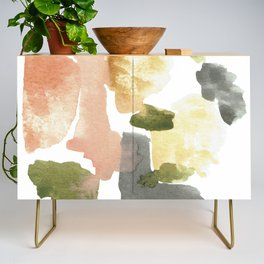 Great New Heights Abstract Credenza
