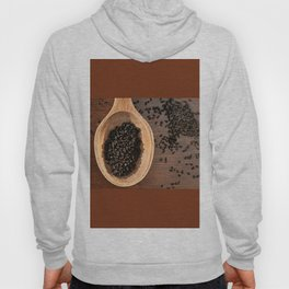 Black Nigella Sativa dry seeds portion Hoody