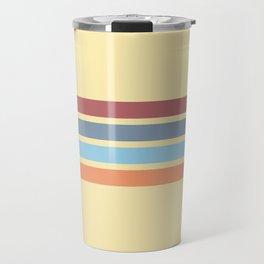 Retro Stripes 14 Travel Mug