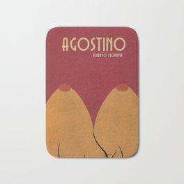 Agostino, Alberto Moravia, sex, book cover illustration, italian novel, writer, journalist, italian Bath Mat