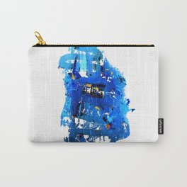 Blue Emotion Carry-All Pouch