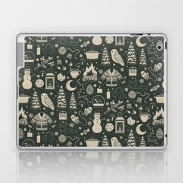 Winter Nights: Forest Laptop & iPad Skin