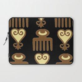 ADINKRA- FEMININE WISDOM Laptop Sleeve