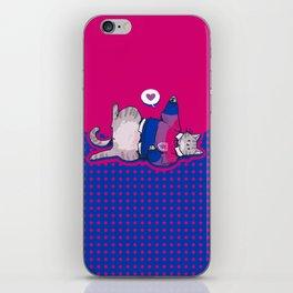 Pride Cats - Bisexual Pride iPhone Skin
