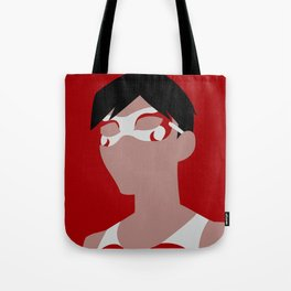 Flying Grayson Minimalism Tote Bag
