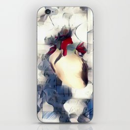 Mathematic heart iPhone Skin