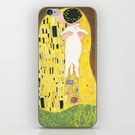 The kiss iPhone Skin