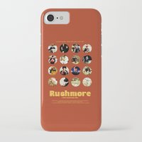 wes anderson iPhone & iPod Cases featuring Wes Anderson / Rushmore - The Many Faces of Max Fischer by Isabel