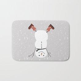 Snowman Yoga - Handstand Bath Mat