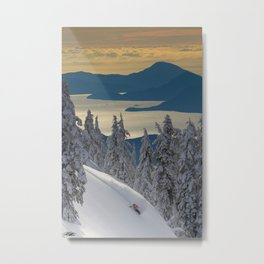 LIMITED EDITION (Almost sold out)  - KEVIN SANSALONE / HOWE SOUND SQUAMISH BC Metal Print
