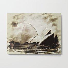 Sydney Opera House  Collection I Metal Print