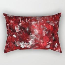 Red Nebula Rectangular Pillow