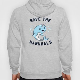 Save The Narwhals Hoody