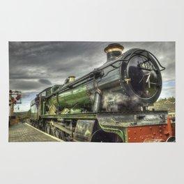 Steam Locomotive 4936 Kinlet Hall Rug