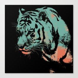 Tiger art print wild animal  Canvas Print