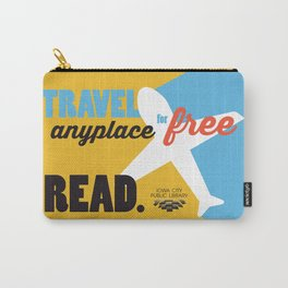 Travel - Iowa City Public Library Carry-All Pouch