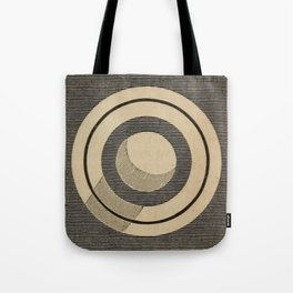 Vintage Saturn From Above Tote Bag