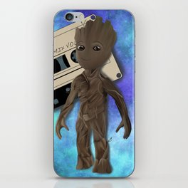 Awesome mix vol. 1 iPhone Skin