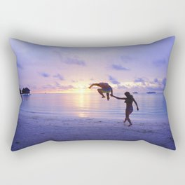human balloon  Rectangular Pillow
