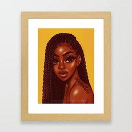 KABIBI Framed Art Print