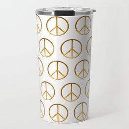 P E A C E - Symbol Travel Mug