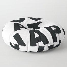 good at naps Floor Pillow