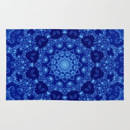 Ocean of Light Mandala Rug