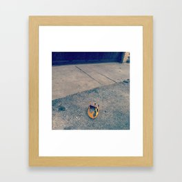 FALLEN KING Framed Art Print