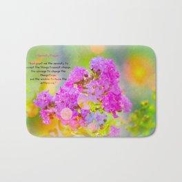 Serenity Prayer - II Bath Mat