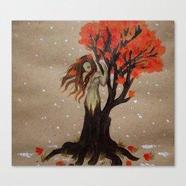 Fall Dryad Canvas Print