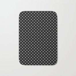 Black and white polka dot 2 Bath Mat