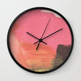 White Cloud Wall Clock