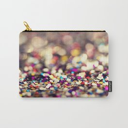 Rainbow Sprinkles - an abstract photograph Carry-All Pouch