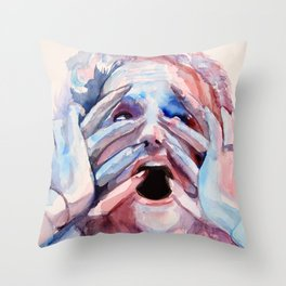 Inferno Throw Pillow
