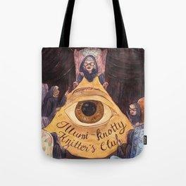 Illumi-Knotty Knitter's Club Tote Bag
