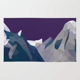 Geo Mountain Range (Part 4) Rug