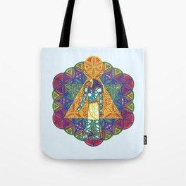 Sacred Geometry Thoth Mandala II Tote Bag