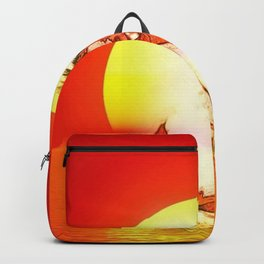 Submission At Sunset Backpack
