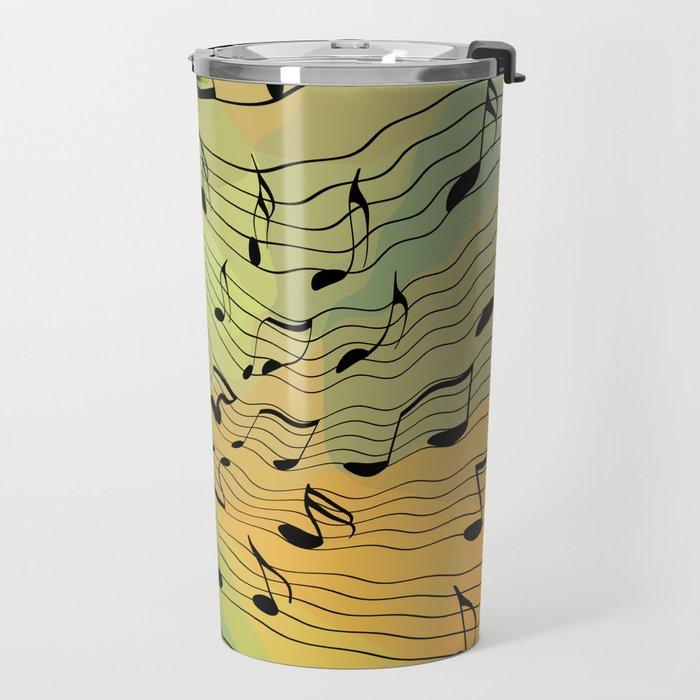 Music notes II Travel Mug