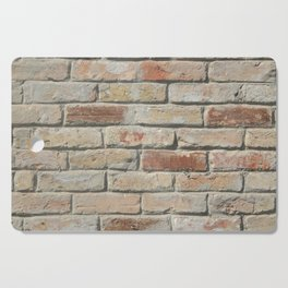 The texture of natural stone and wood, brickwork Cutting Board